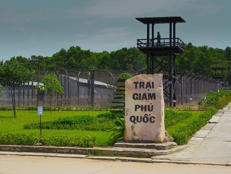 Nhà tù Phú Quốc đã tái hiện một trang sử đau thương của đất nước