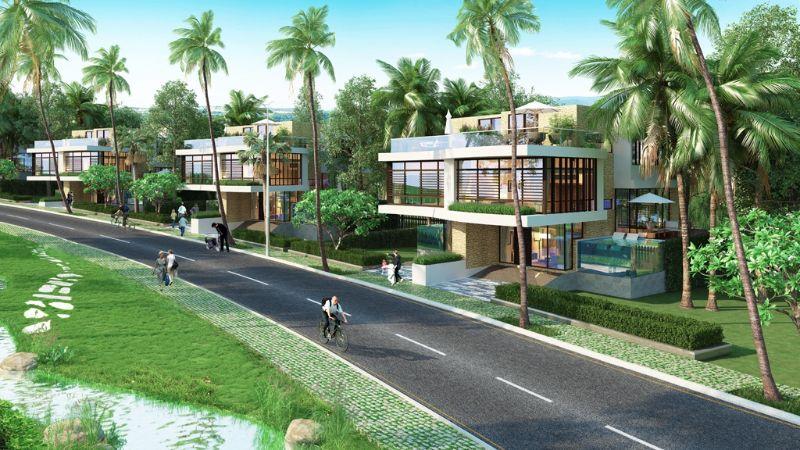 900 căn nhà phố, biệt thự của dự án được thiết kế theo phong cách sang trọng