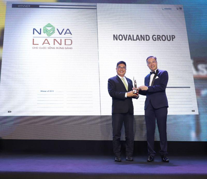 Novaland là tên tuổi lớn, đã nhận được nhiều giải thưởng uy tín