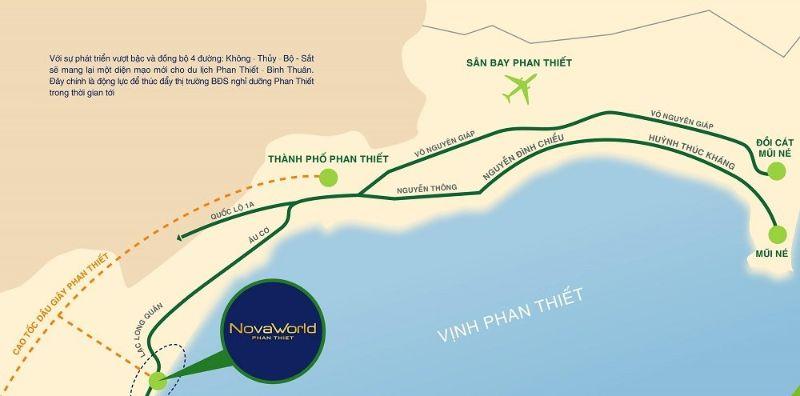 Với nhiều ưu điểm, Novaworld Phan Thiết sẽ phát triển nhanh trong thời gian tới
