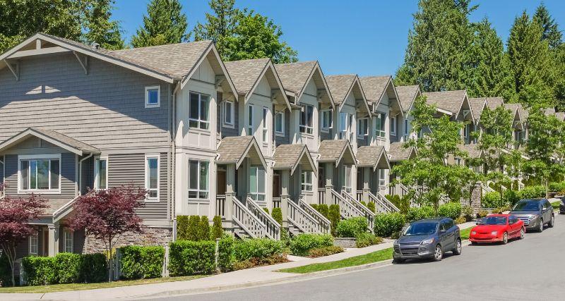 Đây chính là khái niệm chỉ những căn nhà phố liền kề