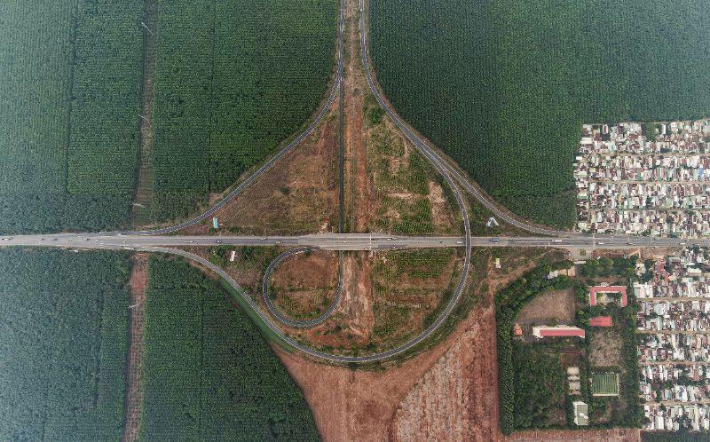 Mật độ bất động sản quanh tuyến cao tốc Dầu Giây - Long Thành đang tăng