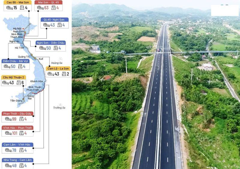 Chính quyền đã phê duyệt phương án mở rộng đường cao tốc