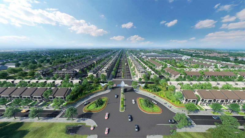 Phối cảnh khu đô thị Gem Sky World Long Thành
