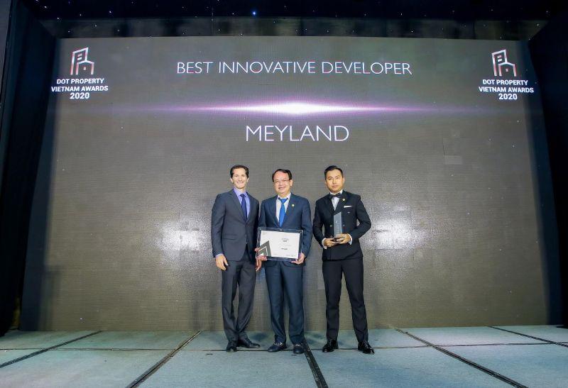 Khách hàng có thể an tâm mua dự án Meyhomes Capital vì uy tín của Meyland Tân Á Đại Thành