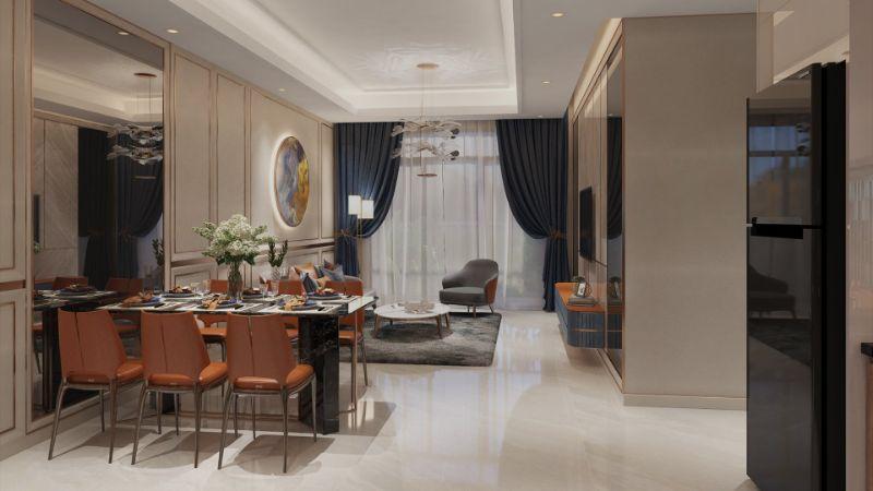 Những căn hộ trong dự án này được đánh giá rất cao