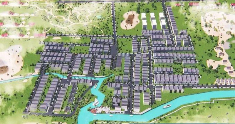 Mật độ phủ xanh của dự án khiến nhiều người thè muốn