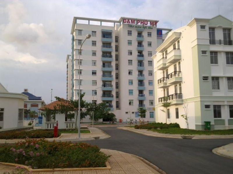 Dự án chung cư Đạm Phú Mỹ cũng có chất lượng rất tốt