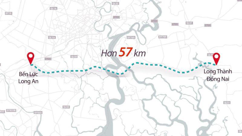 Theo dự kiến, tuyến đường sẽ được hoàn thiện vào năm 2024