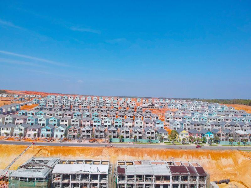 Các khu đô thị đang rất phổ biến tại Việt Nam