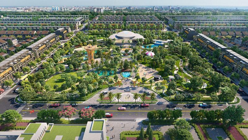 Gem Sky World là một khu đô thị đắt giá ven Sài Gòn
