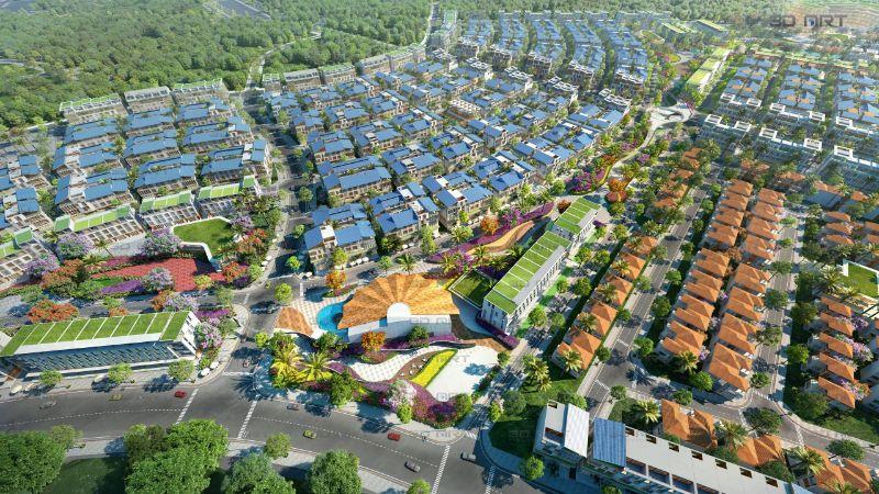 Phối cảnh dự án khu đô thị Meyhomes Capital Phú Quốc