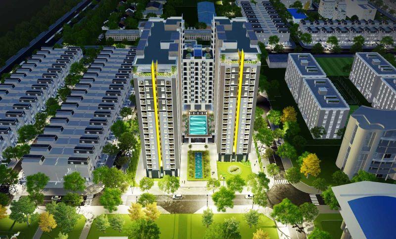 Những bất động sản tại đây cũng đang tăng nhanh cả về chất lẫn lượng
