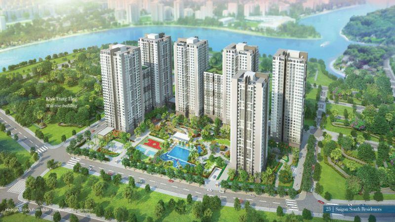 Saigon South Residence thuộc chủ đầu tư Phú Mỹ Hưng