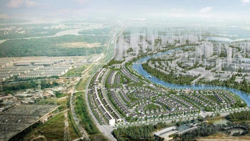 Khu đô thị Zeitgeist Nhà Bè được đầu tư từ GS Hàn Quốc