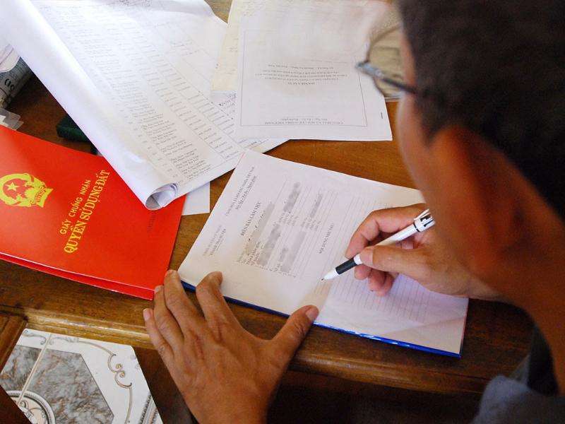 Dự án ma không có giấy tờ pháp lý rõ ràng