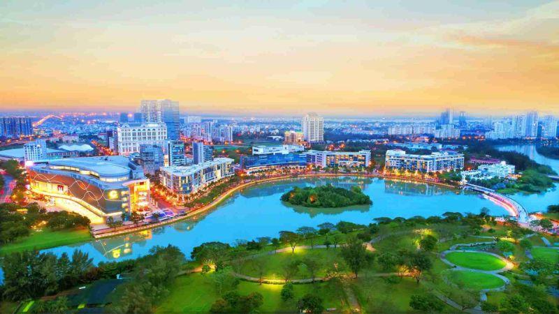 Quận 7 được đánh giá là khu vực có tiềm lực kinh tế nhất Nam Sài Gòn