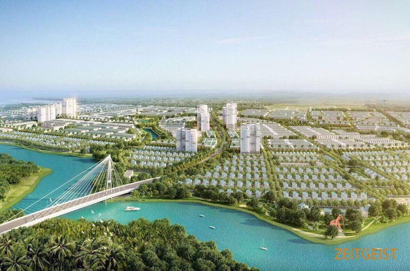Nhiều dự án bất động sản lớn mọc lên ở quận 7 và các khu vực lân cận