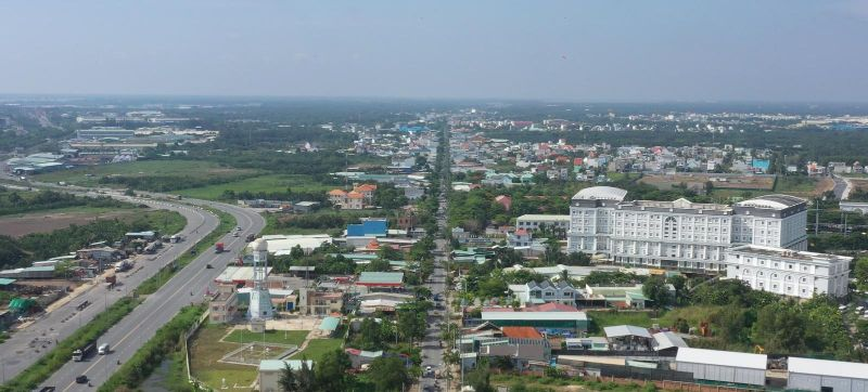 Huyện Nhà Bè lên quận vào năm 2025