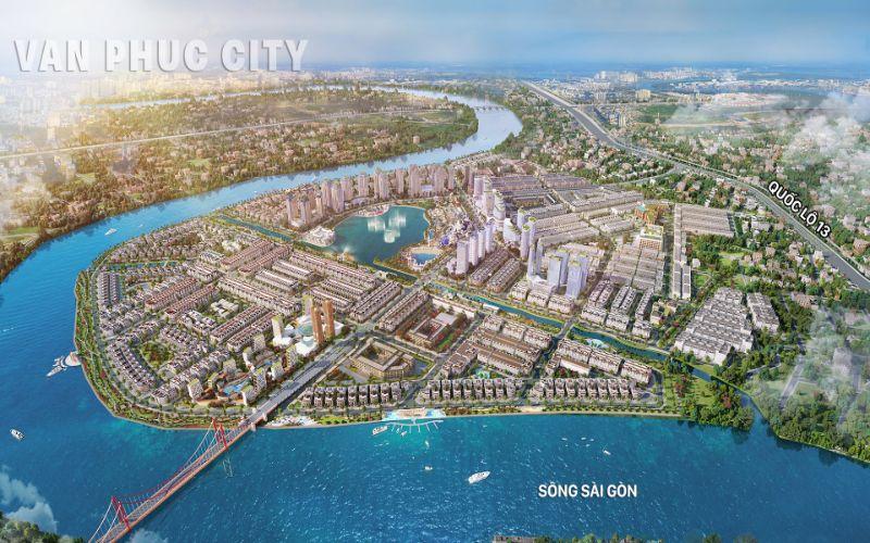 Phối cảnh dự án Vạn Phúc City Thủ Đức