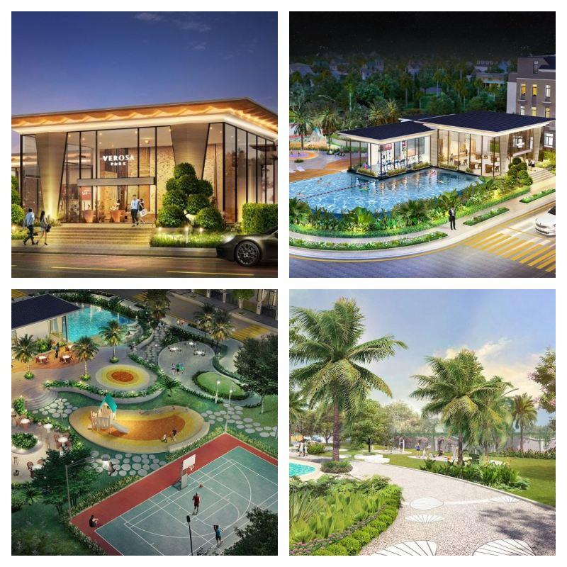 Dự án Verosa Park Khang Điền sở hữu tiện ích nội khu đầy đủ hiện đại