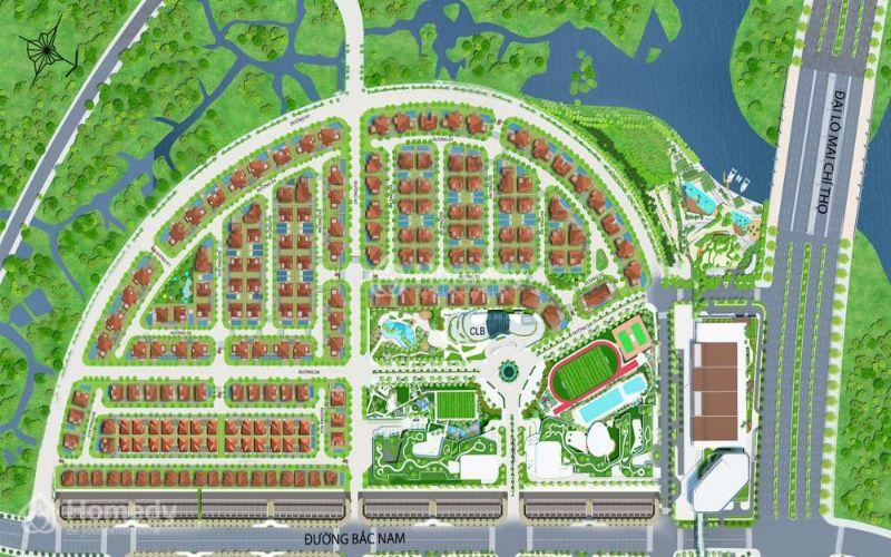 Mặt bằng tổng thể dự án Sari Town Quận 2