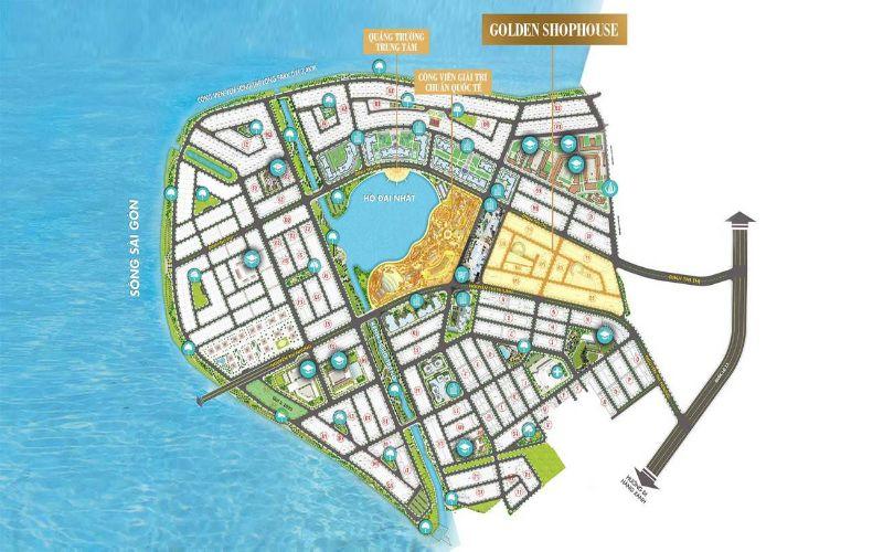 Mặt bằng tổng thể dự án Vạn Phúc City Thủ Đức