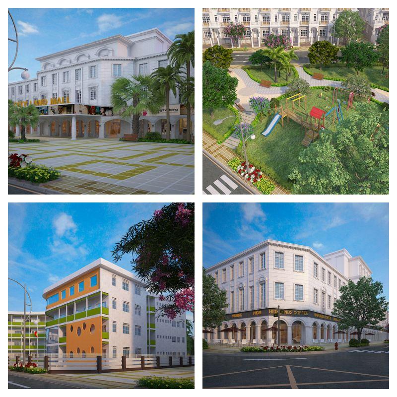 Cityland Center Hills và tiện ích nội khu đầy đủ cao cấp
