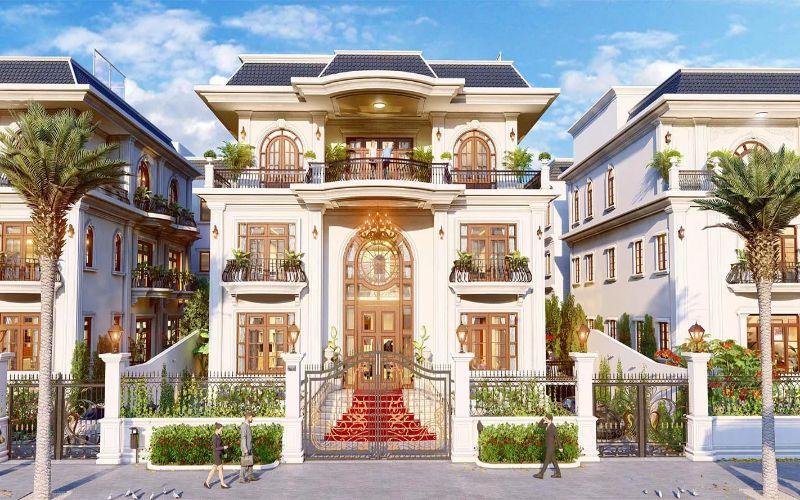 Mẫu biệt thự đơn lập tại Phân khúc Mansion Van Phuc