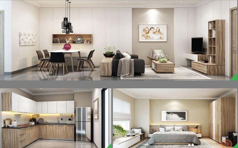 Thiết kế nội thất nhà ở thương mại dự án Sari Town Quận 2