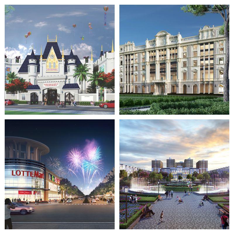 Tiện ích nội khu dự án Cityland Park Hills cao cấp trọn vẹn