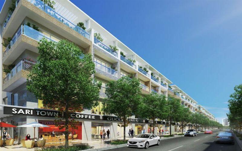 Dự án Sari Town Quận 2 tiện ích nội khu đầy đủ