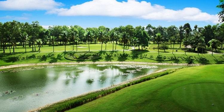 sân golf rạch chiếc